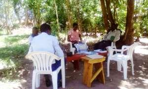 The four staff under orientation