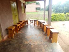 stools procured to be used at Home Econ Academy