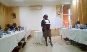 The staff of Twaweza in training