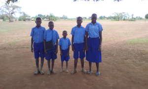 5 of the other 12 children supported by KIFA