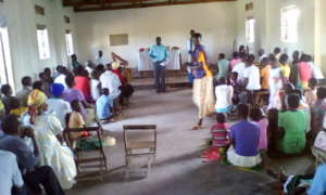 Advocacy at Church of Uganda Aumi 9
