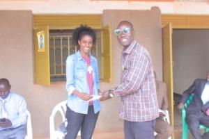 TWAWEZA certificate to Volunteers