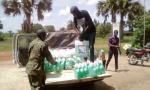 Liquid Soap collected from KIFA's office