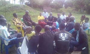 Consultative meeting at the village level