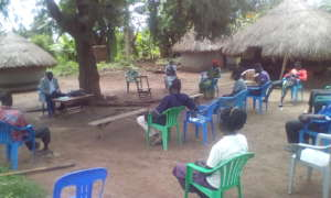 Parents and Youth at the meeting