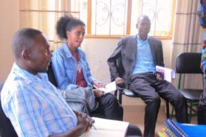 Kole District Official supports activities of KIFA