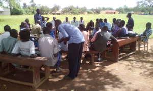 Sub-County Chief Bala: Advises community