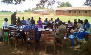 Headteacher Angic advises community
