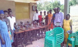 Parents witnessed the procurement of S. machines