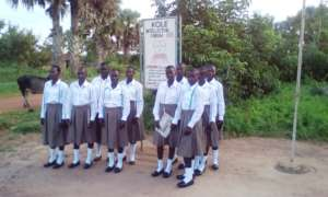 10 girls in the 2nd set of School Uniform