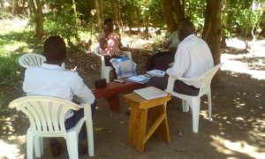 Staff undergoing orientation
