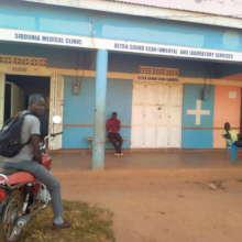 The buildingof Siddonia medical Clinic