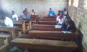 Pupils doing weekly Test