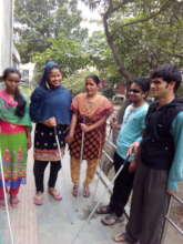 Visually impaired students