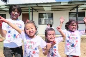 Celebrating hope girls