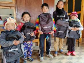 Children going back to school with our support