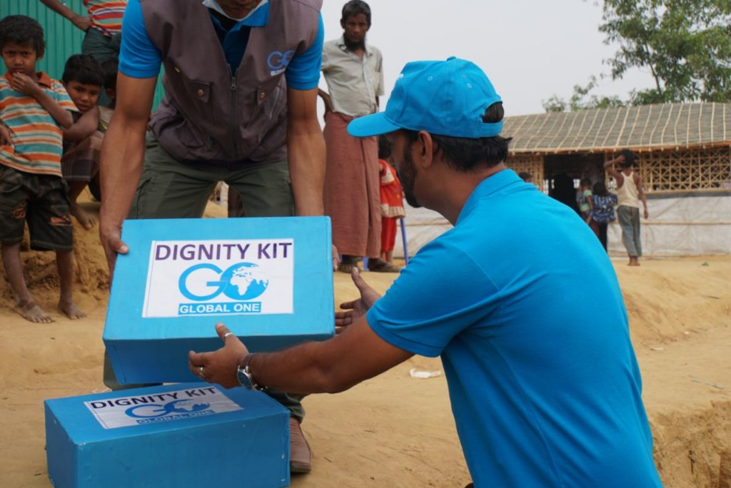 Dignity Kits for Rohingya Refugee Women