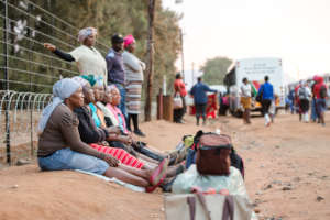 Provide trauma relief to workers in South Africa