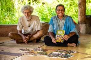 Deepika and Bernard - seeds, books, and smiles