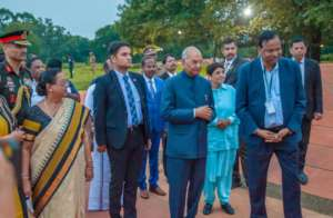 Indias President Kovind visiting Auroville in Dec.