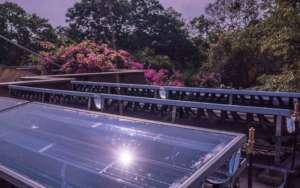 Solar hybrid project - example