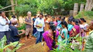 Training in regenerative forestry  nursery