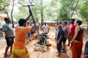Training by Auroville Earth Institute