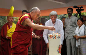 The Dalai Lama - a staunch supporter of Auroville