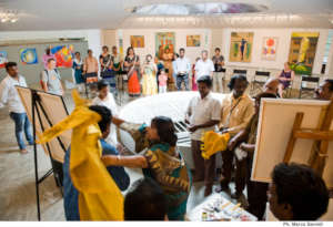 Art Gallery in a multicultural society