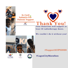 Lagos Marathon Thank You