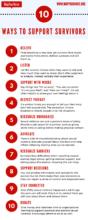 10 Ways to Support Survivors