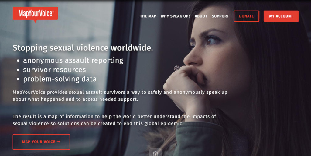 Help support 1 million sexual violence survivors