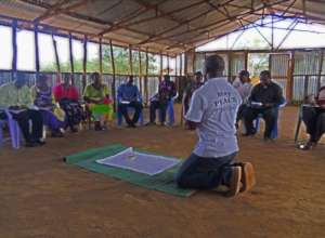AVP workshop in Kakuma Refugee Camp
