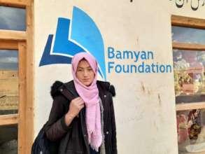 Sahar, our student at Rahnaward