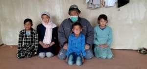 Sahar and her family