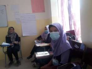 Our students at Baba