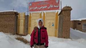 Roya - Student at Rahnaward School