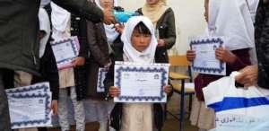 Zohra - Student at Rahnaward High School