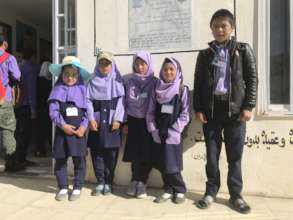 our students at Bamyan Baba School