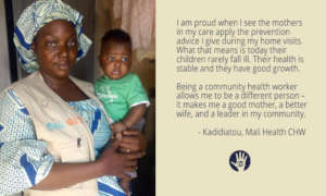 Kadidiatou's a Mali Health Community Health Worker