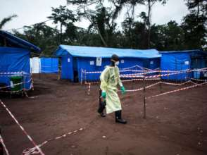 Ebola health worker - John Wessels/Getty Images