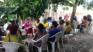 Meeting of one of the 35 Self-Help Groups