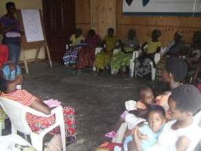 HROC workshop for rape survivors support group.