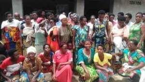 Participants of HROC follow-up day, GBV survivors