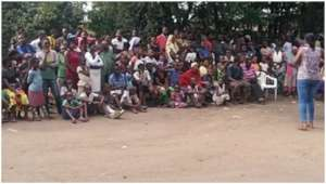 Mobilization for family planning and HIV testing.