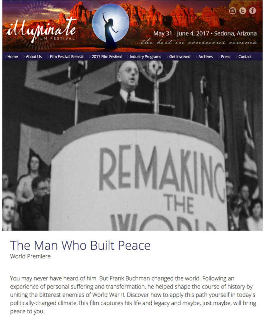 The Man Who Built Peace - UK Launch