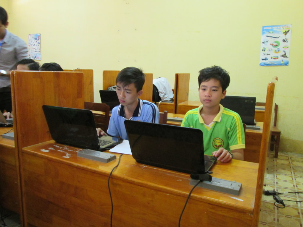 TEACH CODE LITERACY TO THE RURAL YOUTH IN VIETNAM