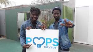 POPS grads and performing artists Caleb and Kylon