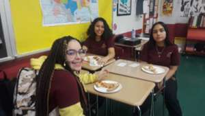 POPS the Club students at Bronx Academy of Letters
