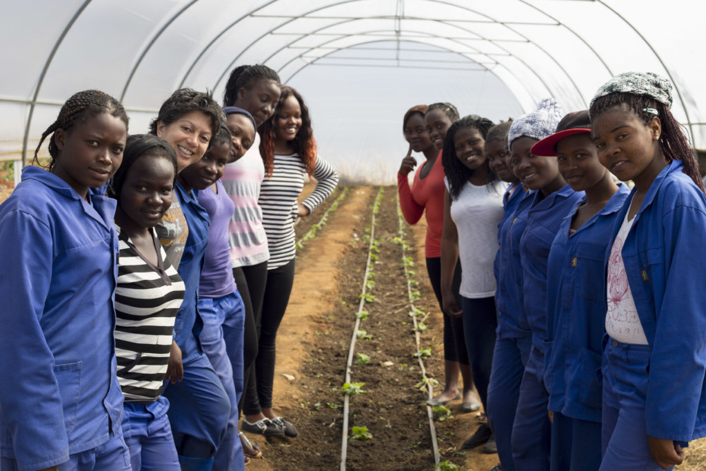 Let's give girls training for a vibrant future